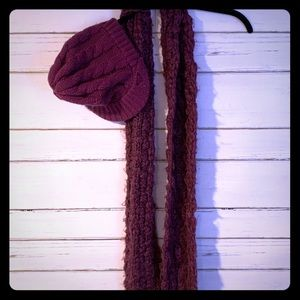 Roxy Scarf and Hat